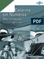 SEBRAE SC Em Números - Macrorregião Da Foz Do Itajaí (SEBRAE-SC, 2010)