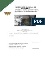 FIQT - Labo FisicoQuimica 1 - N°1 - Densidad y peso molecular del aire