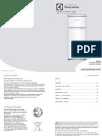 Manual heladera Electrolux EHC275B / EHC275G EHC335B / EH335G