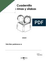 Cuadernillo de Rimas y Sílabas