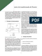 Espectrofotómetro de Transformada de Fourier