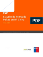 Estudio de Mercado Palta China PMP