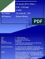 Rancangan Pengajaran Harian Bahasa Malaysia Tahun 5