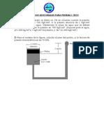 Ejercicios Para Prueba 1 2014