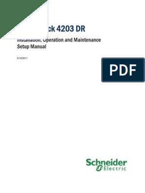 Scadapack 4203 Dr | Power Supply | Resistor on