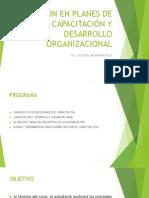 gestion en planes de capacitacion y desarrollo organizacional