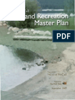 Parks Rec Master Plan