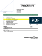 Formatos de Pptos Explicitos e Implicitos