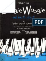 Boogie Woogie and How to Play It - Book Two - David Carr Glover (1958)