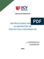 Instrucciones Para Elaborar Proyecto y Tesis.2015(1)