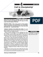 2nd Quarter 2015 Lesson 4 Easy Reading Edition the Call to Discipleship