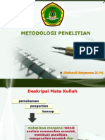 1 METODOLOGI PENELITIAN