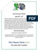 environment week poster for weebly