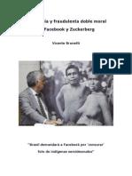 Hipocresía y fraudulenta doble moral de Facebook y Zuckerberg - Vicente Brunetti