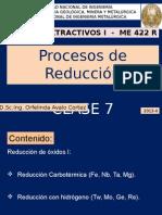 CLASE 7-Procesos Extractivos I