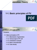 1-1Basic Principle of PV(Day1)