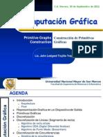 DiscretizacióndePrimitivasGráficas ComputaciónGraficaFISI2011 II