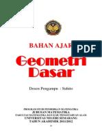 Geometri Dasar - Suhito