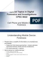 Mobile Forensics Lecture Slides