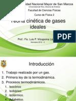 Teoría Cinética de Gases Ideales - Semana 14