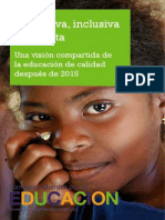 Equitativa, Inclusiva y Gratuita CME Post 2015
