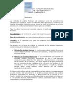 Analisis Financiero Finanzas I