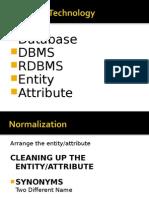 Database Technology