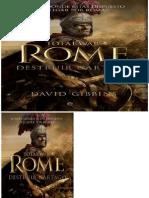 Guerra Total. Roma. Destruir Cartago - David Gibbins