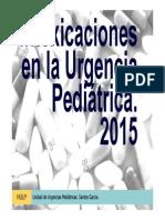 Intoxicaciones en La Urgencia Pediátrica