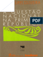 LIPPI, Lucia. A Questão Nacional Na Primeira República