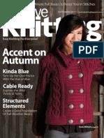 Creative Knitting September 2011