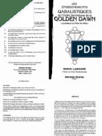 Denis Labouré - Les Enseignements Qabalistiques de La Golden Dawn, Tome 2