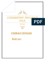 Chemistry Project
