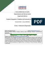 Projetos e TCCs - DIURNO - MM - Errata