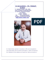 Dentist in Jerusalem - Dr. Robert Sreter, DDS