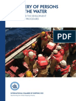 Recovery of Persons From the Water Guidelines for the Development of Plans and Procedures