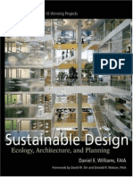 Sustainable Design - Ecology, Architecture and Planning