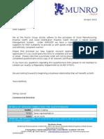 Q SOP 011a 03 New Supplier Account Form