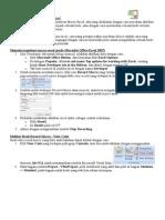 Memulai Membuat Macro Excel
