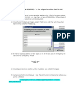 Full File System Restore