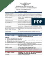 NLSIU National Seminar Schedule