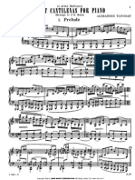 8 Cantinelas for Piano