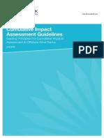 Cumulative Impact Assessment Guidelines