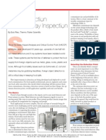 Metal Detector vs X-ray