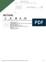 Butane _ c4h10 - Pubchem