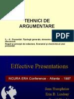 Tehnici de Argumentare 56