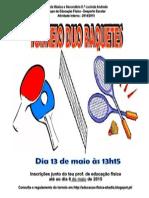 Torneio Duo Raquetes 14-15