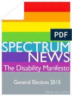 SPECTRUM Newsletter Special Manifesto Edition