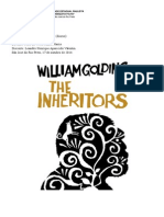 Handout about The Inheritors, by William Golding