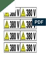 AFIS PRIZA 380V